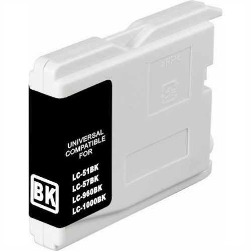 Brother LC37BK Compatible Black Dye Ink Cartridge