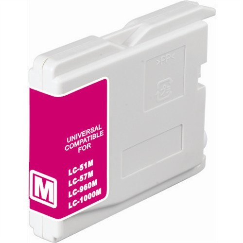 Brother LC37M Compatible Magenta Dye Ink Cartridge