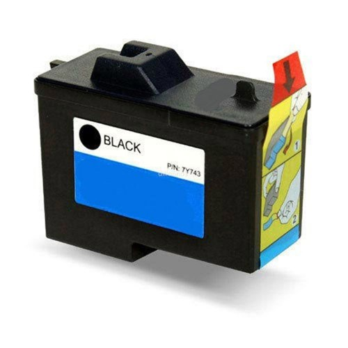 Dell Series 2, 7Y743 Compatible Black Ink Cartridge
