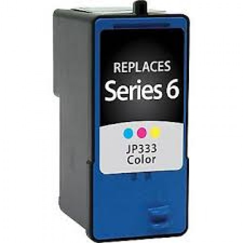 Dell Series 6, JF333 Compatible TriColour High Yield Ink Cartridge