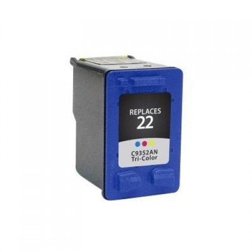 HP C9352AA, #22 Compatible TriColour Ink Cartridge