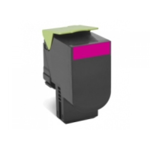 Lexmark 80C8SM0 Compatible Magenta High Yield Laser Cartridge